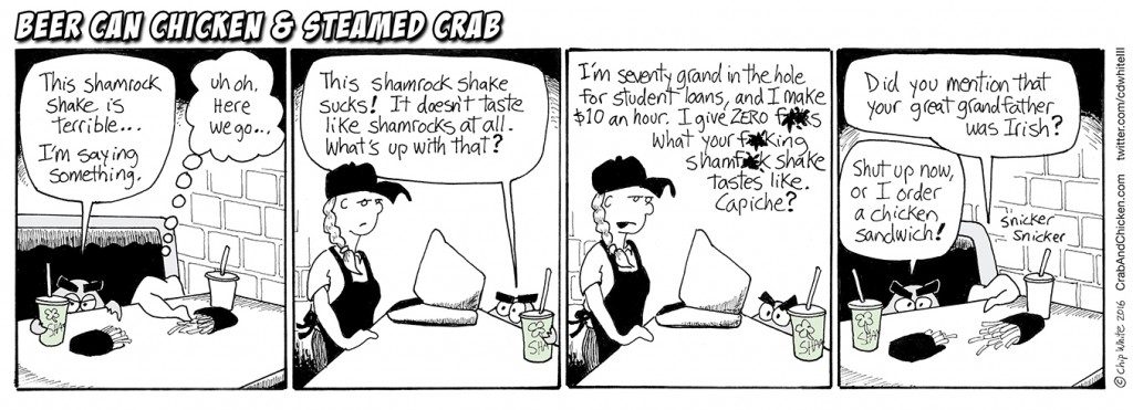 #39 Shamrock Shakes – a hat tip to St Patrick's Day